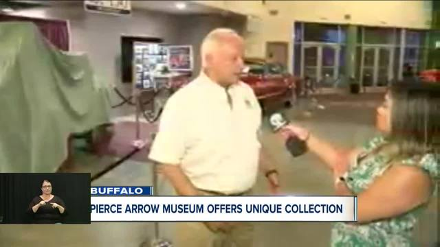 One of a kind Jell-o wagon finds home at Pierce Arrow Museum