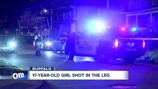 Police: 17-year-old girl shot in the leg