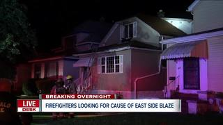 Firefighters looking for cause in overnight fire