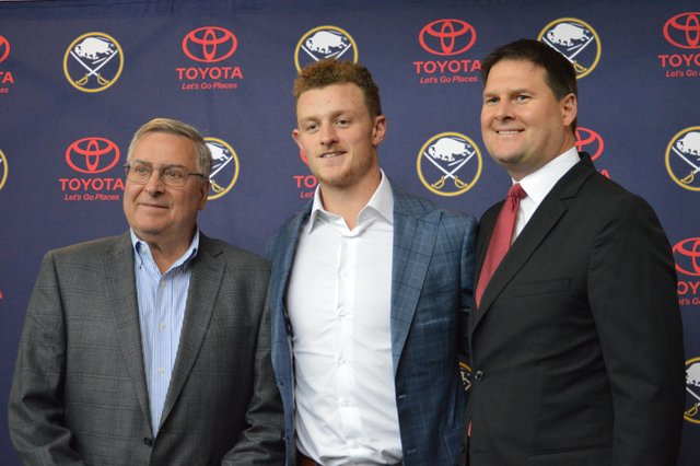 Buffalo Sabres Go All-In, Sign Jack Eichel To 8-Year Contract Extension