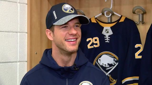 With Eichel signed, Sabres set for opener vs. Canadiens