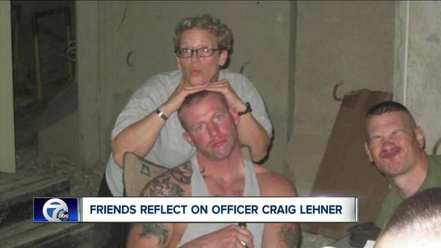 Friends remember Officer Craig Lehner