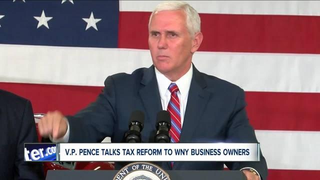 VP Pence in WNY
