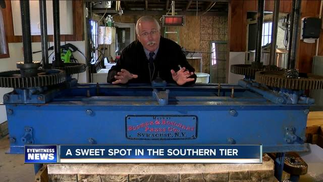 Antique press continues sweet success at Busti Cider Mill