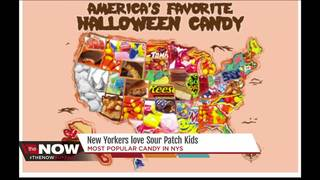 Sour Patch Kids #1 candy in New York State