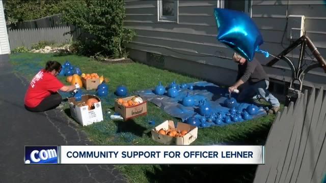 Big demand for blue pumpkins