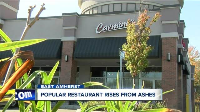 Popular restaurant rises from the ashes