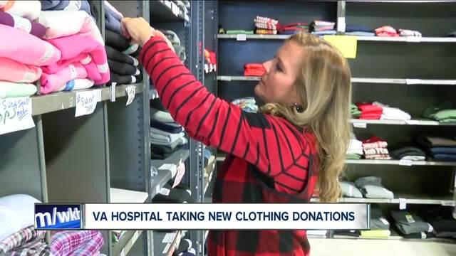 VA Hospital looks for winter donations