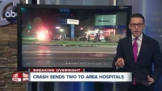 West Seneca Police investigate crash