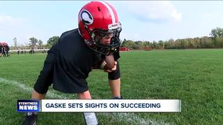 Ryan Gaske inspires Clarence teammates with...