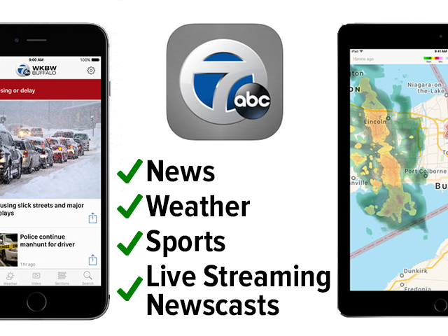 Mobile Apps - Explore WKBW, StormShield apps then download