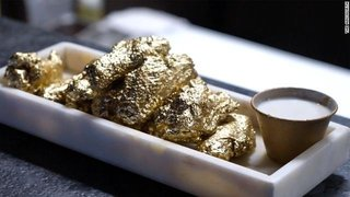 Restaurant serves 24 karat gold wings