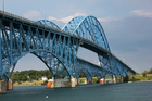 Grand Island bridge back open for Monday commute