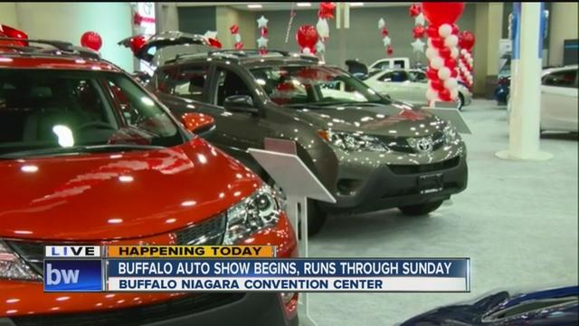 Buffalo Auto Show Opens Its Doors WKBWcom Buffalo NY - Buffalo car show