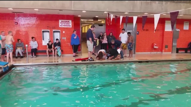 Video At Pool Shows Chaotic Scene With Boy Underwater Buffalo Ny