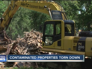 EPA announces cleanup progress at 18 Mile Creek