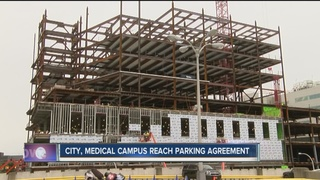 Parking deal reached between med. campus, city