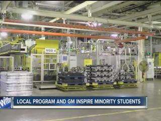 Program sends minority students to GM in Detroit