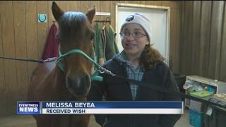 Make-a-Wish helps girl keep her grandma's horses