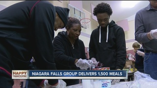 Falls group delivers 1,300 Thanksgiving meals