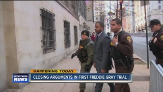 Closing arguments in first Freddie Gray trial