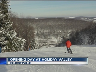Holiday Valley gets ready to make snow