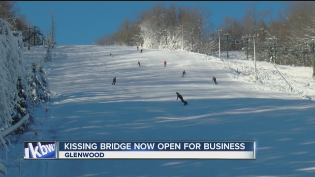 wny skiers can hit the slopes at kissing bridge