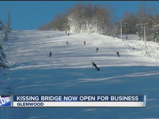 wny skiers can hit the slopes at kissing bridge