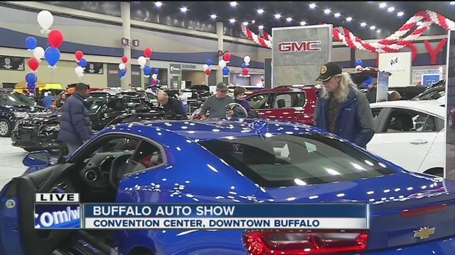 Buffalo Auto Show Underway WKBWcom Buffalo NY - Buffalo car show