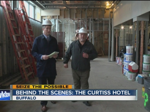 behind the scenes  the curtiss hotel