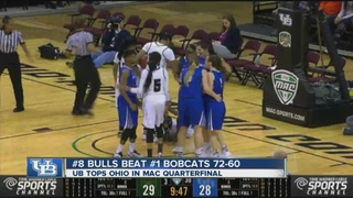 UB women upset Ohio, advance to MAC semifinal