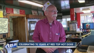 Popular hot dog stand celebrates 70 years