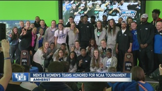 UB men's & women's hoops team honored