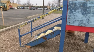 Students help disabled peers build playground