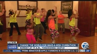 Zumbathon raises money for Make-A-Wish