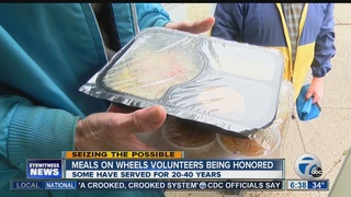 Honoring Meals on Wheels volunteers