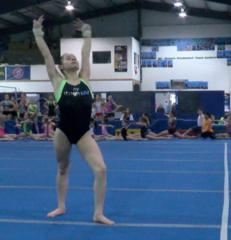 Local gymnasts prepare for regional meet