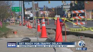 Construction season has started in WNY
