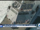 USS Little Rock LCS-9 Commissioned in Buffalo
