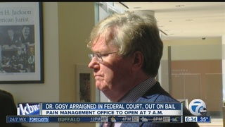 Dr. Gosy gets bail with stipulations