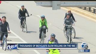 'Slow Roll' Buffalo closes part of Rt 198 Sunday