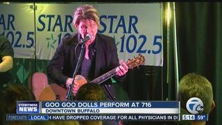 Goo Goo Dolls play show at (716) Food and Sport