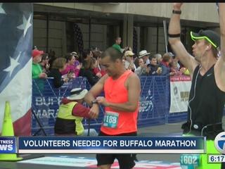 Volunteers needed for Buffalo Marathon