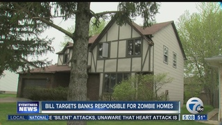 Proposed bill targets bank owned zombie homes