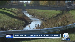 New plans laid out for Scajaquada Creek