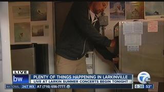 Live at Larkin kicks off its summer music series