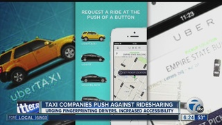 Uber, cabs fight over upstate New York market