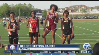 Brundige runs and leaps to record setting season