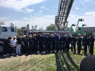Union Fire Co holds groundbreaking ceremony