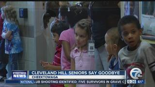Cleveland Hill seniors say goodbye
